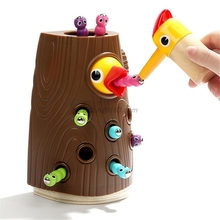 Toddler Toy Preschool-Toys 2-Years Game-Set Fine-Motor Old-Catching Feeding Magnetic