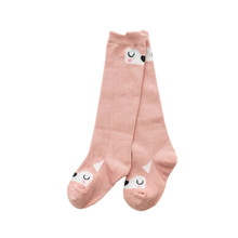 1Pair Cute Baby Socks Girls Boys Cotton Warm Soft Sox  Lovely Cartoon Animal Zoo