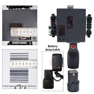 Image 5 - شاشة تعمل باللمس المحمولة طابعة محمولة صغيرة النافثة للحبر تسمية آلة الطباعة الذكية USB رمز الاستجابة السريعة النافثة للحبر تسمية الطابعة 2 50.8 مللي متر