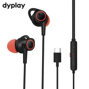 Image 1 - Auriculares con cancelación activa de ruido, intrauditivos con cable USB tipo C, con micrófono, estéreo, ANC, para Huawei, Xiaomi y Samsung