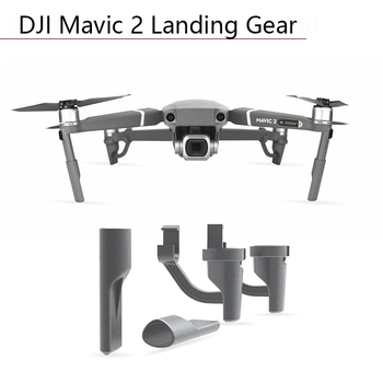 4pcs Landing Gear Leg Extensions Heighten Feet Tripod Stand Damping Holder for DJI Mavic 2 Pro/zoom Parts RC Drone Accessories image