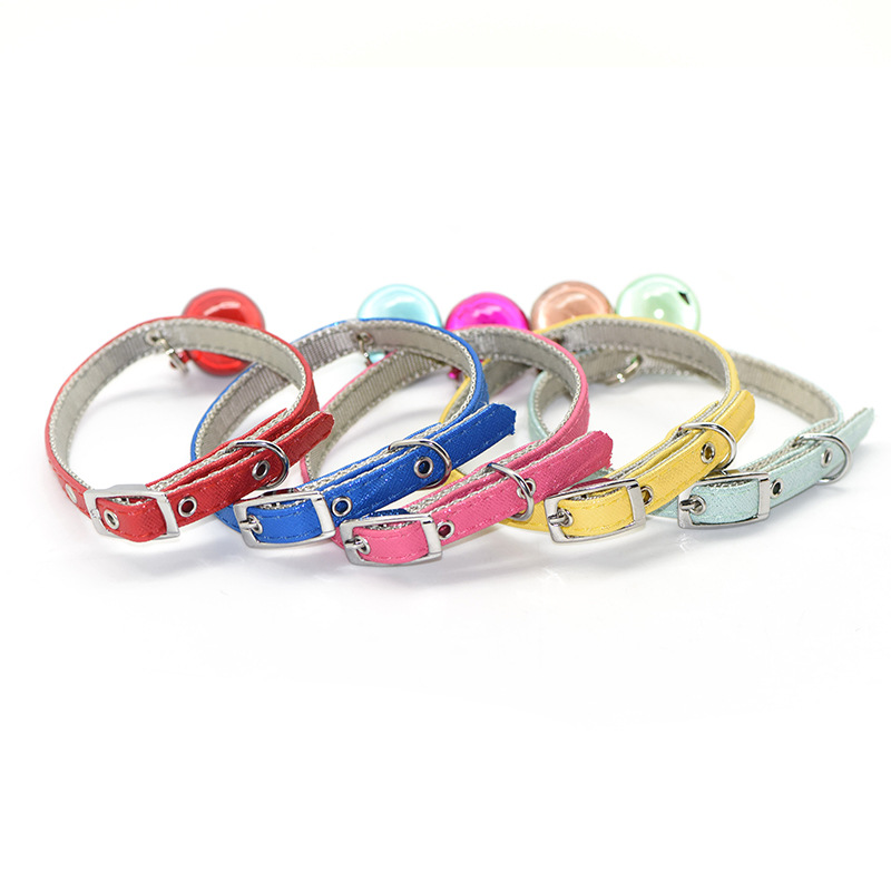 Pet Supplies Cat Big Dog Neck Ring Dacron PU Strip Large Bell Wearable Hand Holding Rope Accessories Tmall Signature