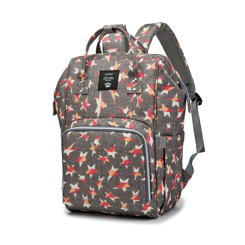 Fashion Diaper Backpack Multi-function Large Capacity Maternal Care Bag Travel BackPack Maternity Baby Nappy Changing Mummy Bags