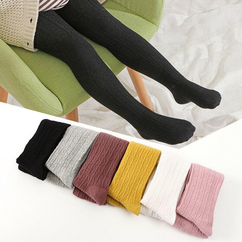 Toddler Baby Girl's Kids Winter Warm Tights Stockings Pantyhose Pants Socks 0-6T