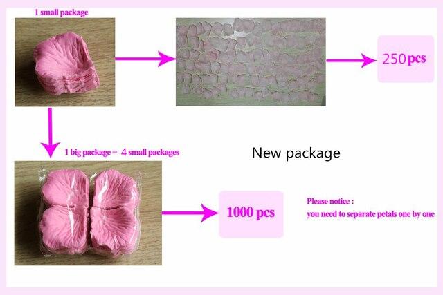 Wholesale Wedding Rose Petals 100pcs/lot Decorations Flowers Polyester Wedding Rose New Fashion 2018 Artificia 5