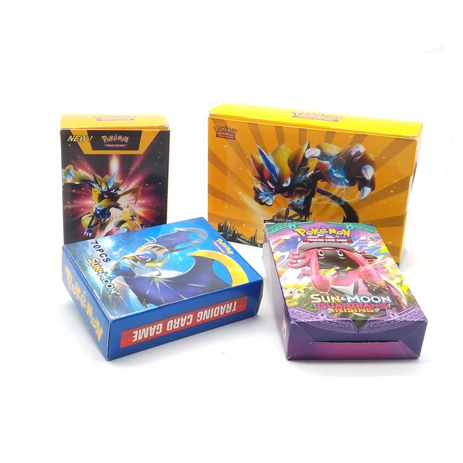 Anime 200pcs Pokemon Card 2019 French Pet Elf Battle Card GX Pocket Monster Game Collection Children's Gifts For Christmas