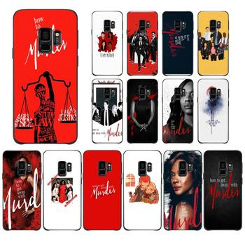 How to Get Away with Murder Phone Case For Samsung Galaxy J200 J2 Prime J2 Pro J6 2018 J250 J4 Plus J415 J5 Prime J7 J737 J710 image