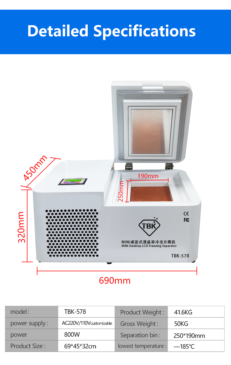 Frozen Separating Machine/LCD Panel Frozen Separator Machine 2