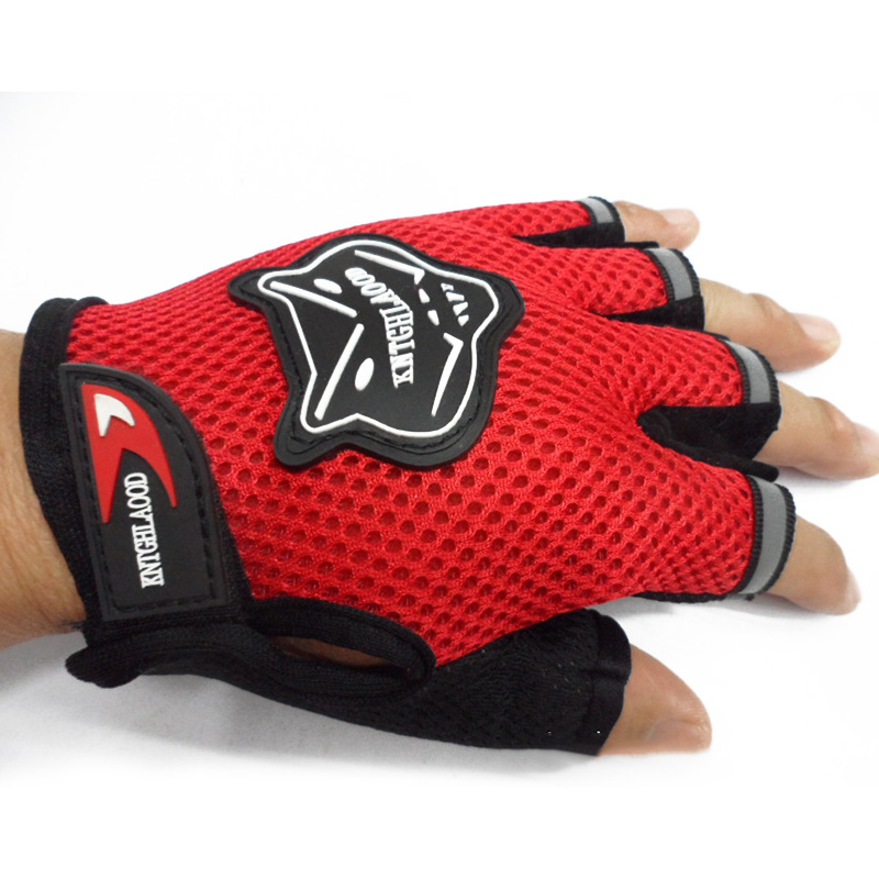 Children Kids Bike Gloves Half Finger Breathable Anti-slip For Sports Riding Cycling HSJ88