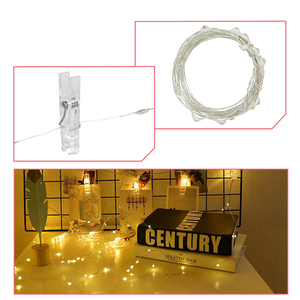 Image 4 - 2M / 5M / 10M USB LED new exotic lights outdoor garland photo clip decorative fairy tale / string light chain battery Christmas