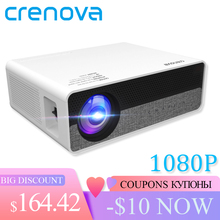 Crenova Nieuwste Full Hd 1080P Fysieke Resolutie Android 8.0 Os Video Projector Met 5G Wifi Ondersteuning 4K led Projector Q9