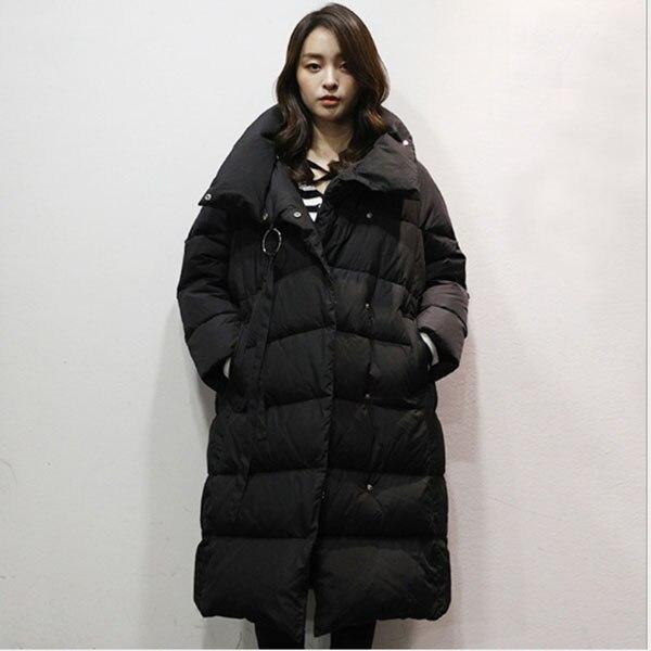 Duck Down Jacket Women Winter Outerwear Coats Casual Light Ultra Down Puffer Jacket Parka,White,L