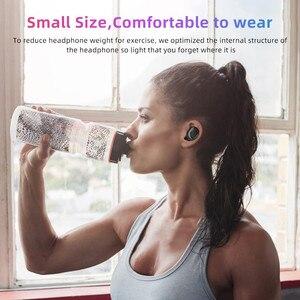Image 5 - Wireless Bluetooth 5.0 Headset Earphones Sport music Headphone Waterproof Running Ear Bud For Vivo Sony xiami xiomi xaomi xaiomi