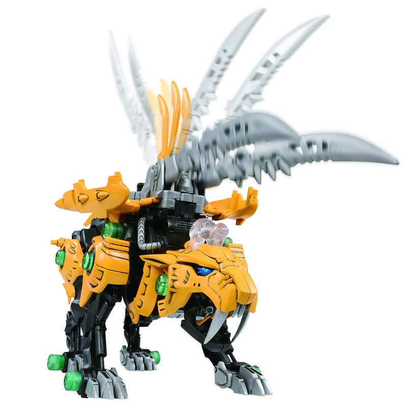Japan Tomy/TOMICA Zoids Suo Si Shou Mechanical Beast Electric Assembled Model Men's Toy Zw19 Steel Teeth Tiger