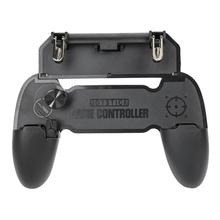 W11+ Smart Phone Gaming Controller Gamepad Aim Key Trigger w/Stand for PUBG