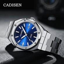 Cadisen 42 мм Для мужчин часы от топ бренда роскошный механический