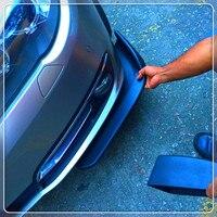Car AUTO Shovels Bumper Spoiler Front Decorative Wing FOR Ford Focus MK2 MK3 MK4 kuga Escape Fiesta Ecosport Mondeo Fusion