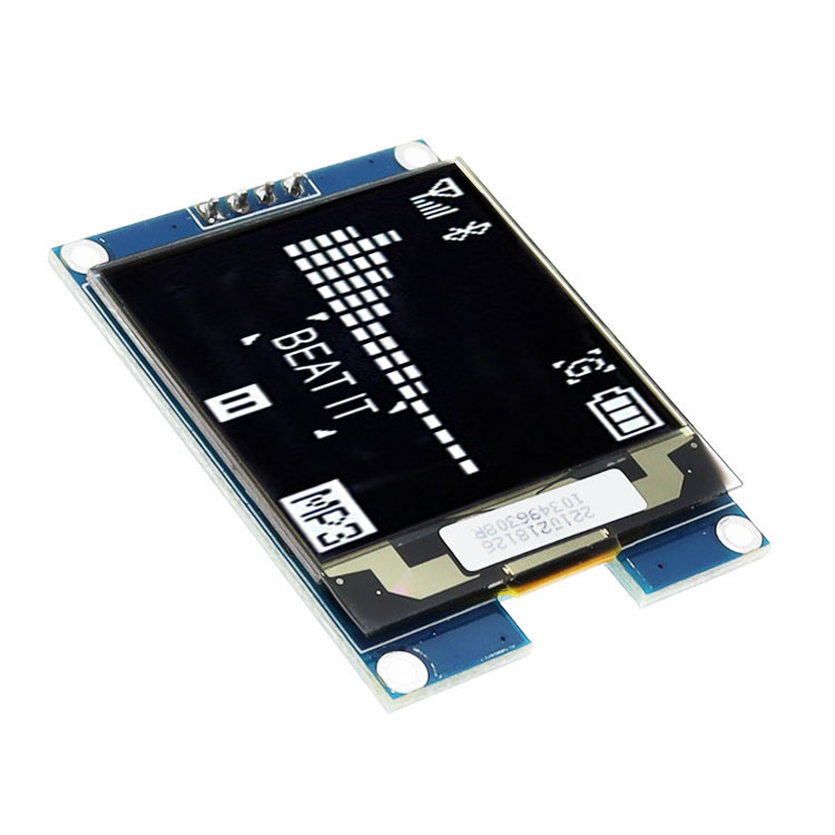 1.5 inch <font><b>Oled</b></font> LCD Display IIC Serial White <font><b>OLED</b></font> Display Module 128X128 I2C 1.5inch <font><b>SSD1327</b></font> 128128 LCD Screen Board For Arduino image