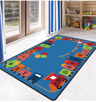 Kids Puzzle Game Shaggy Anti-Skid Floor play Mats 3D Carpet Non-slip rug Dining Living Room Soft Child Bedroom Mat 04