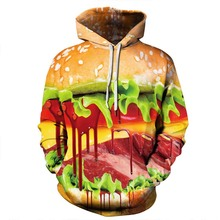 3D Printed Women Hoodies Funny Novelty Streetwear Oversized Pullovers Hoodie New Autumn Winter Halloween Sweatshirt
