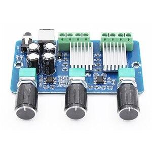 Image 5 - YDA138 E YAMAHA Digital Audio Amplifier Board 2.1 Channel 2*15W+30W Class D Stereo HD Sound Amplifiers Board Home Sound Theater