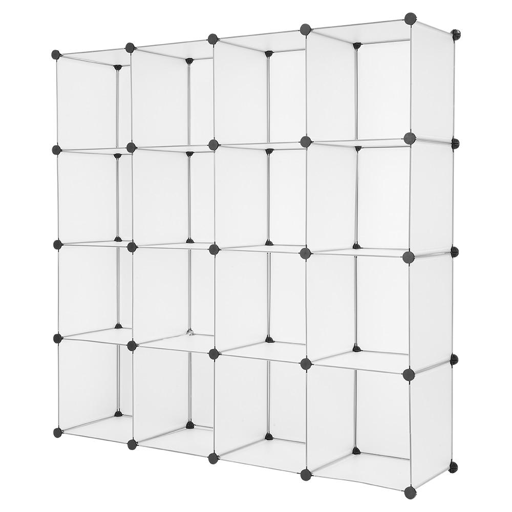 US Warehouse Cube Storage 16 Cube Book Shelf Storage Shelves font b Closet b font