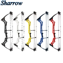Archery Compound Pulley Bow & Arrow Sets 30-55lbs Adjustable Axle to 40inch For Outdoor Hunting Shooting Accessories