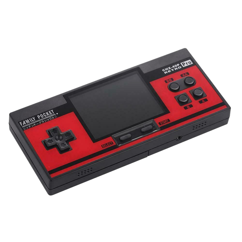 Coolbaby Rs-88 Family Pocket Game Console Retro Portable Mini Handheld Game Player Built-In 348 Classic Games 3.0 Inch Color Lcd