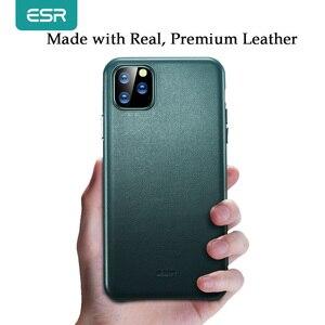 Image 2 - Чехол ESR для iPhone 11 Pro Max, чехол из натуральной кожи для iPhone 12 mini 12Pro Max, роскошная задняя крышка для iPhone 11 12 11Pro Max