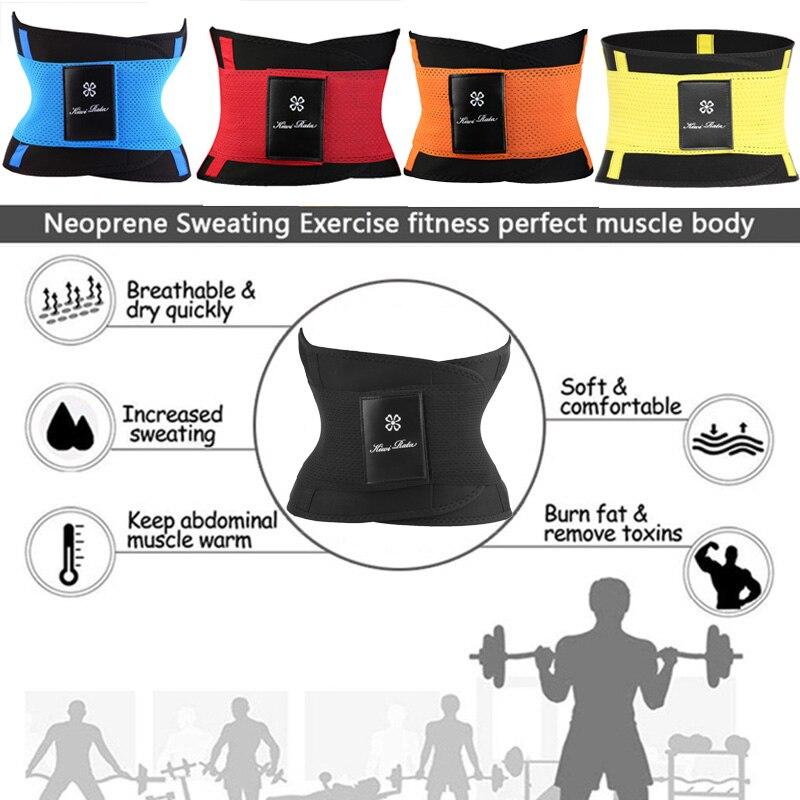 Image 4 - Waist Trainer Unisex Xtreme Power Belt Faja Women Body Shaper Slimming Belt Shapewear Tummy Shaper Waist Shaper Control Girdle-in Waist Cinchers from Underwear & Sleepwears on AliExpress
