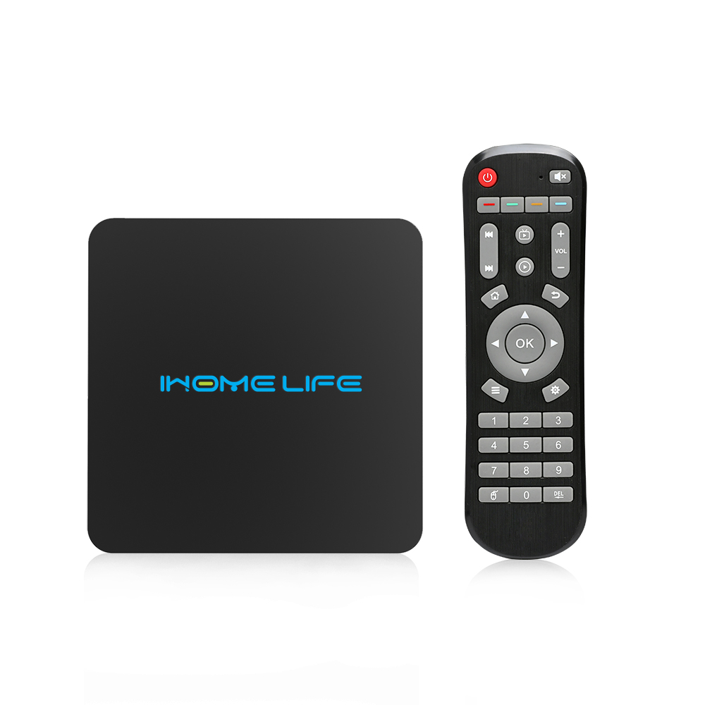 Hot Sales HLQ MAX 2G 8G Tv Box Amlogic S912 Android 7.1 Smart Tv Box 4k Streaming Media Player HLQ MAX+ With 1 Month Sub Free