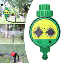 Garden Water Timer Automatic Electronic Watering Controller Home Garden Irrigation Timer System Digital Sprinkler Timer(China)