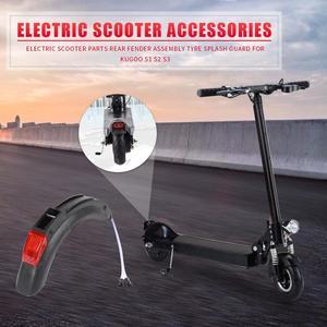 Прочный заднее крыло в сборе Портативный электрический скутер запчасти заднее крыло в сборе шины брызговик для Kugoo S1 S2 S3