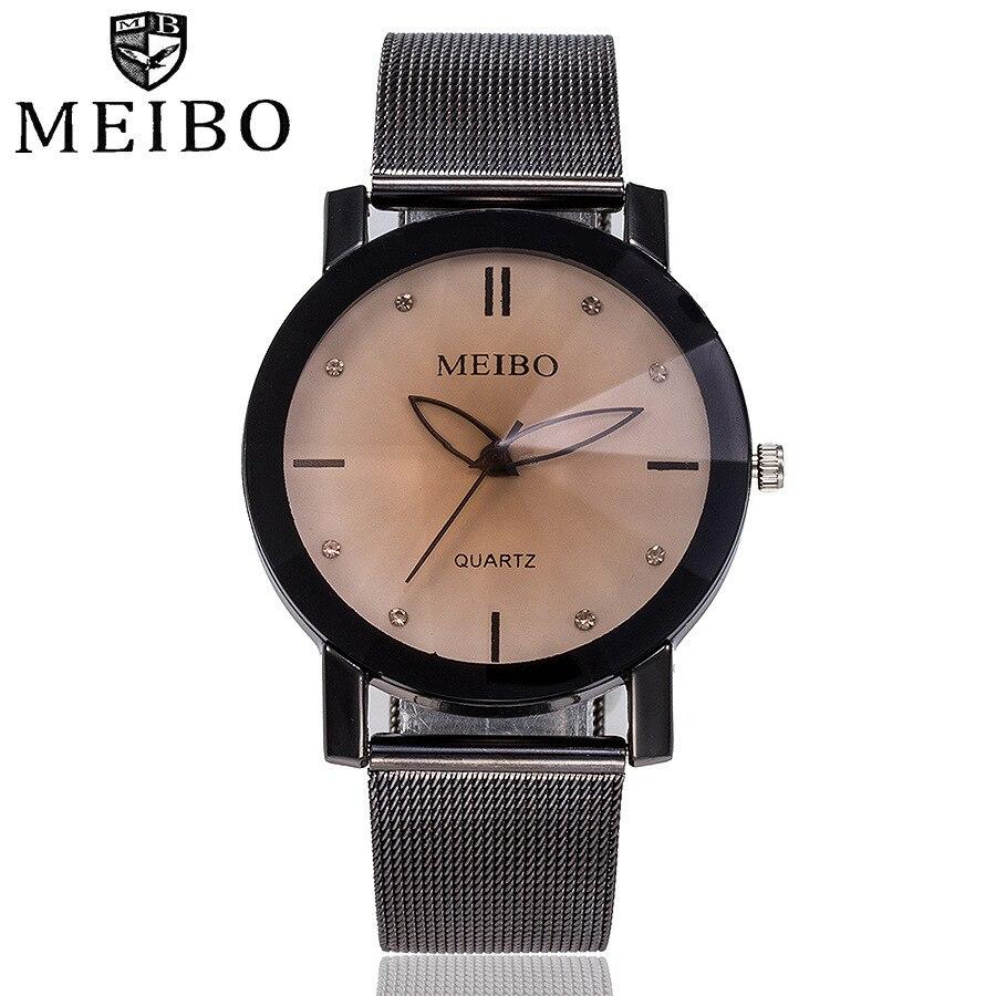 Watches Women Fashion Watch 2019 Luxury Brand Geneva Quartzwatch Lady Mesh Stainless Steel Womens Watches Relogio Feminino Clock