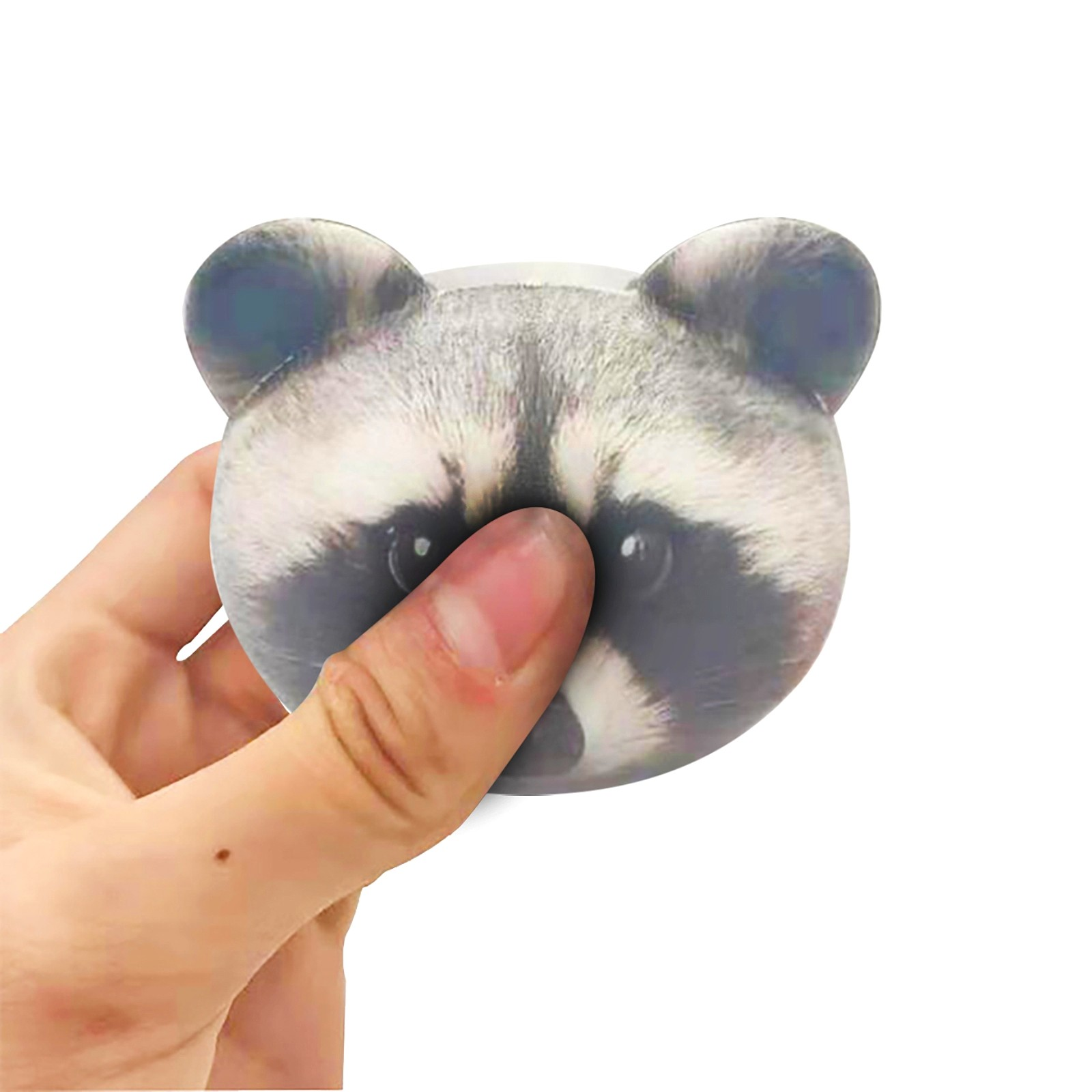 Decompression Toy Animal-Head-Toys Stress Pinching-To-Release-Stress Dolls Anxiety img2