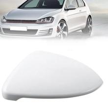 Для Golf MK7 Golf 7 GTI TSI 17 передний левый белый боковое зеркало заднего вида крышка 5G0857538E