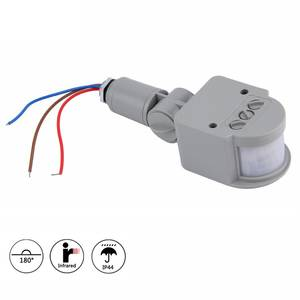 Light-Switch Ir-Motion-Sensor Outdoor 220V Infrared PIR Home AC with Led-Light Professional
