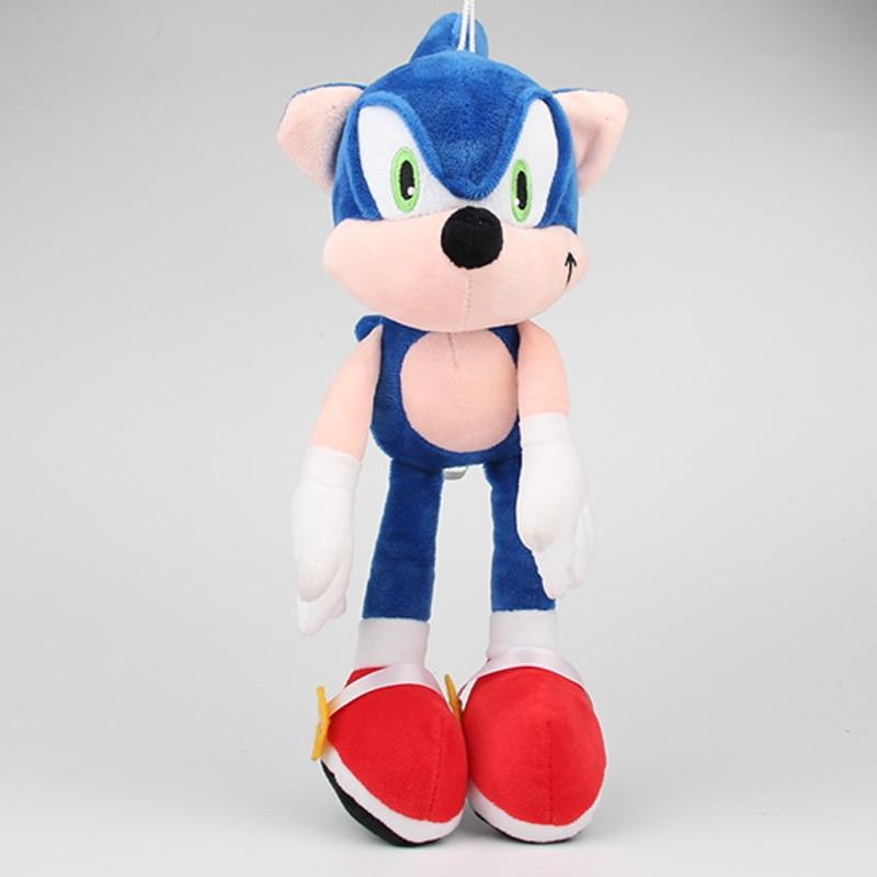 1pcs 30cm Sonic Plush Toys Doll Blue Sonic The Hedgehog Plus…