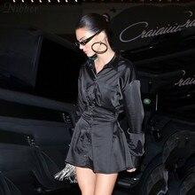 office lady Slim Soft chiffon long sleeve dresses