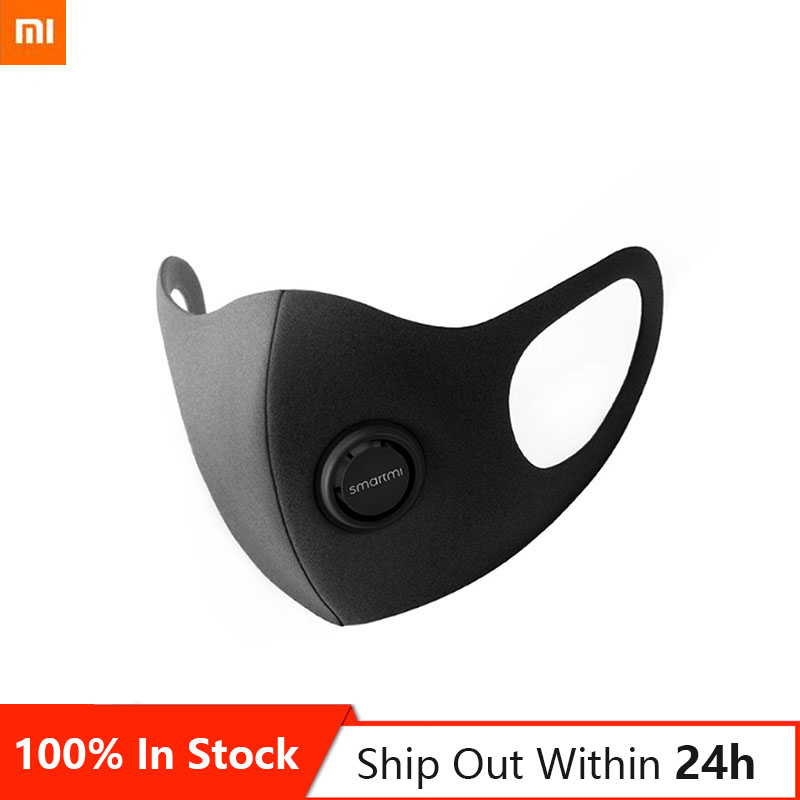 Original Xiaomi Smartmi Maske N95 / KN95 Anti-Dunst Anti-Verschmutzung Professionelle Schutzhülle 3D Struktur