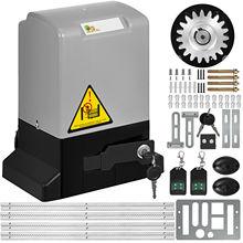 Garage-Door-Opener Sliding-Door-Kits 1300LBS 4m-Rail Remote-Control-Kit Operator Electric
