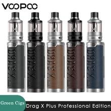 Original Voopoo arrastrar X Plus edición profesional Kit de 100W Vape TPP Pod tanque TPP DM1 DM2 bobina 18650/ 21700 Mod E-cigarrillo