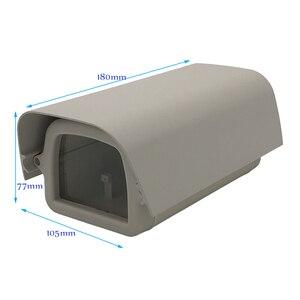 Image 2 - Ao ar livre à prova de intempéries câmera de vigilância de vídeo caso casa diy mini câmera cctv habitação janela vidro claro com suporte