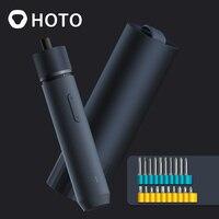 HOTO-destornillador eléctrico inalámbrico, 3,6 V, S2, 32 piezas, inteligente, batería recargable