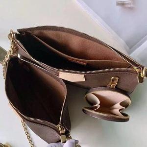 Image 2 - senior designer high quality leather diagonal bag popular brand diagonal bag