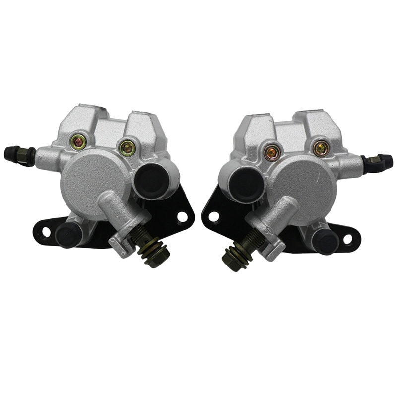 1Pair Front Brake Caliper Fit for Yamaha Grizzly 350 400 <font><b>450</b></font> 660 for YFM 350 400 <font><b>450</b></font> 660 image
