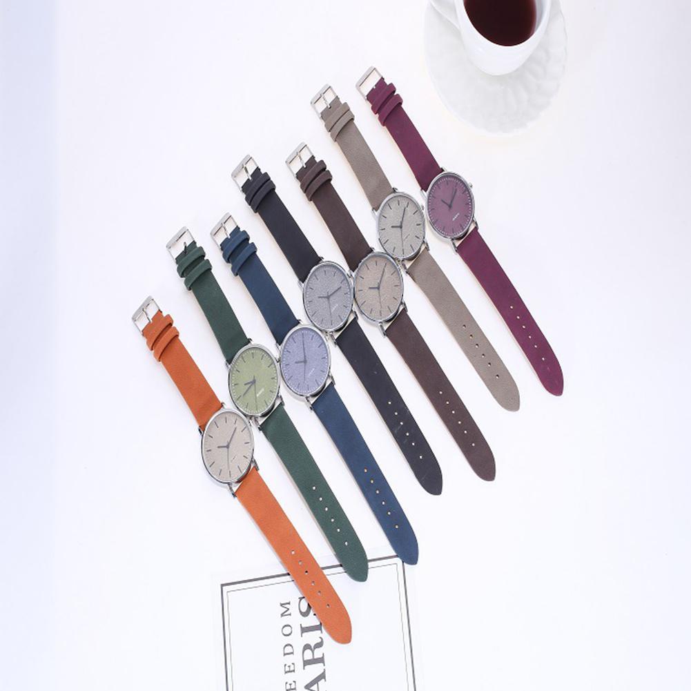 HobbyLane Fashion Matte Large Dial Unisex Watch