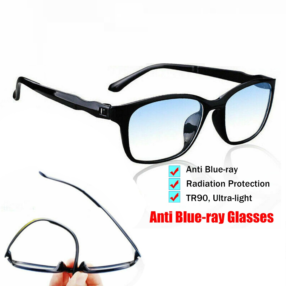 Anti Blue Light Blocking Glasses TR90 Computer Glasses Anti Blue Ray Eyeglasses Optical Eye Spectacle Gaming Goggles Eyewear