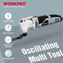 Workpro Осциллирующий многофункциональный инструмент электроинструменты