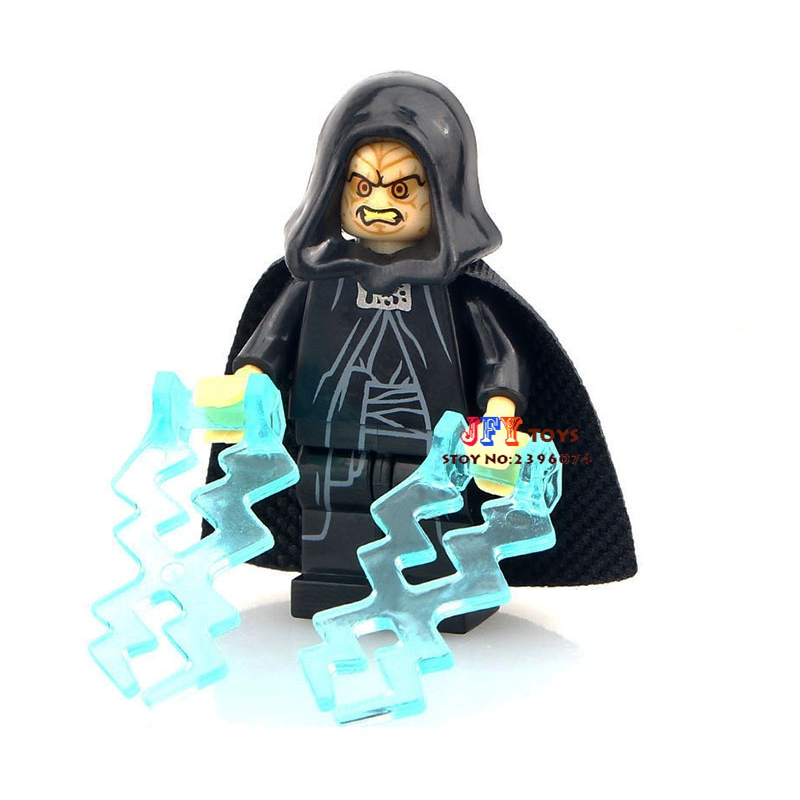 Single Sale Superhero Darth Sidious Emperor Palpatine Building Blocks Model Bricks Toys For Children
